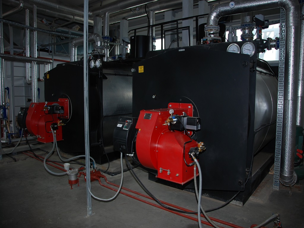 Industrial Boilers inside MBR